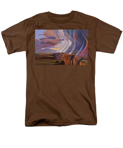 Rainbow Of Rain Men's T-Shirt  (Regular Fit) by Art James West