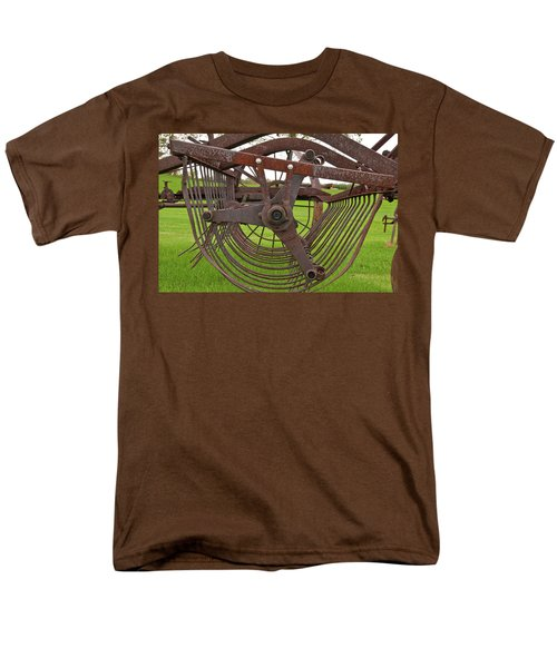 Men's T-Shirt  (Regular Fit) featuring the photograph Rake 3118 by Guy Whiteley