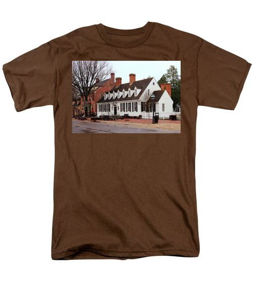 Raleigh Tavern 2 Men's T-Shirt  (Regular Fit) by Lou Ford