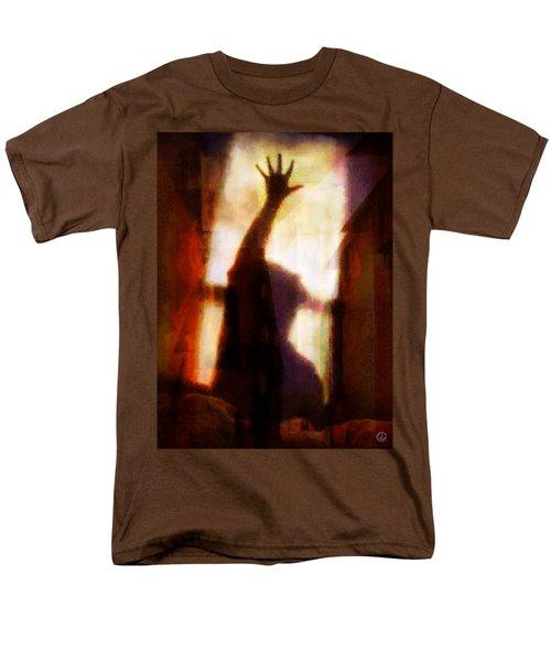 Men's T-Shirt  (Regular Fit) featuring the digital art Reaching For The Light by Gun Legler
