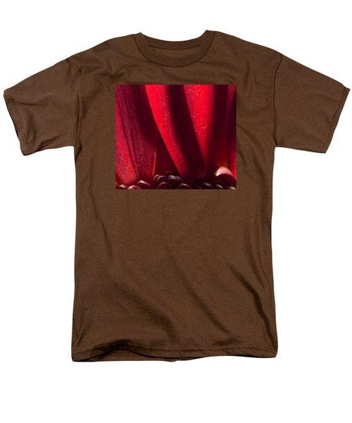 Golden Pollen Red Chrysanthemum Men's T-Shirt  (Regular Fit) by John Williams