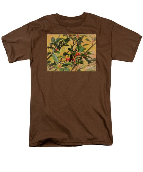 Men's T-Shirt  (Regular Fit) featuring the photograph Red Berry by Mim White