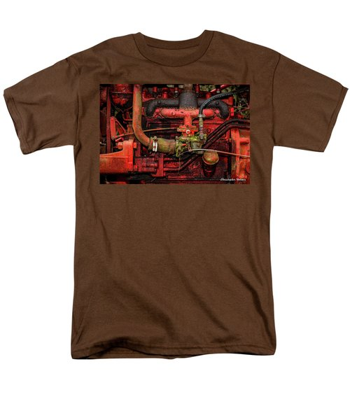 Men's T-Shirt  (Regular Fit) featuring the photograph Red by Christopher Holmes