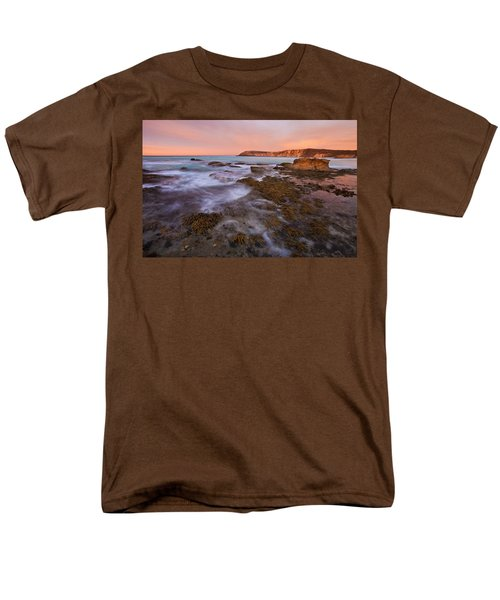 Red Dawning Men's T-Shirt  (Regular Fit) by Mike  Dawson