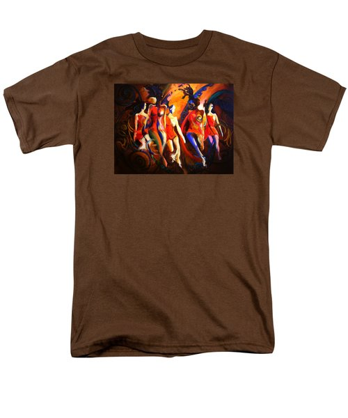 Men's T-Shirt  (Regular Fit) featuring the painting Red by Georg Douglas