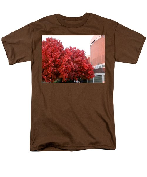 Red Men's T-Shirt  (Regular Fit) by Joseph Yarbrough