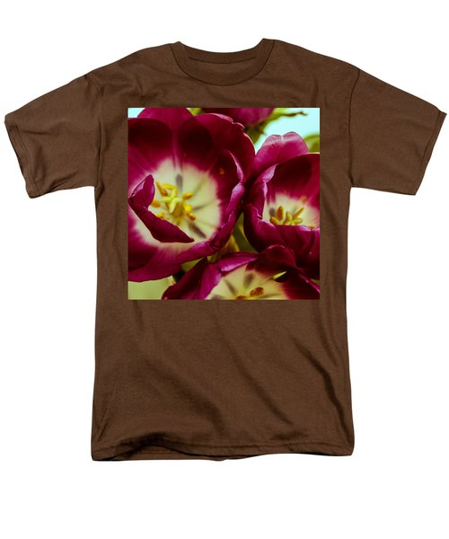 Red Lips Men's T-Shirt  (Regular Fit) by Bobby Villapando