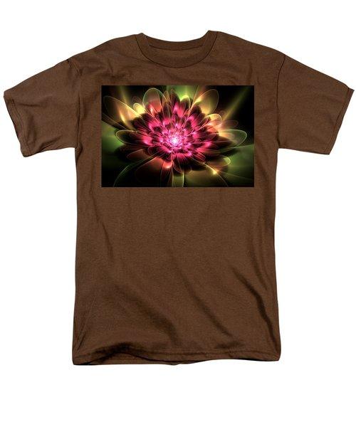 Men's T-Shirt  (Regular Fit) featuring the digital art Red Peony by Svetlana Nikolova