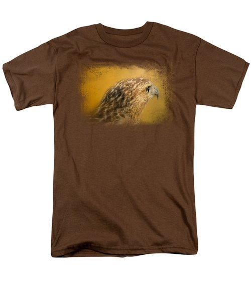Red Tailed Hawk At Sunset Men's T-Shirt  (Regular Fit) by Jai Johnson