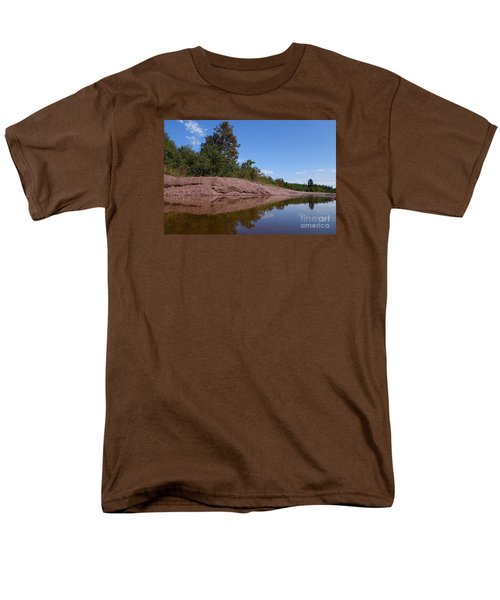 Men's T-Shirt  (Regular Fit) featuring the photograph Reflecting On Change by Sandra Updyke