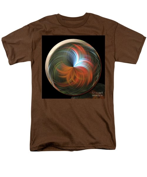 Reflecting Orb Men's T-Shirt  (Regular Fit) by Judy Wolinsky