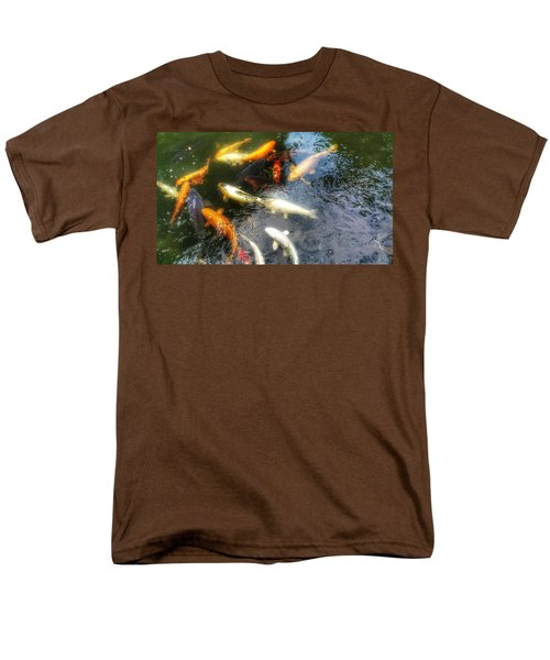 Reflections And Fish 5 Men's T-Shirt  (Regular Fit) by Isabella F Abbie Shores FRSA
