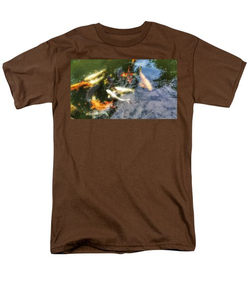 Reflections And Fish 6 Men's T-Shirt  (Regular Fit) by Isabella F Abbie Shores FRSA