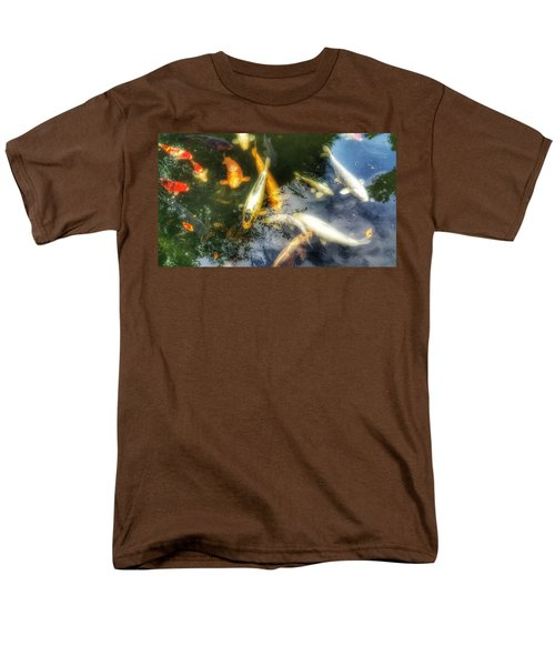 Reflections And Fish 7 Men's T-Shirt  (Regular Fit) by Isabella F Abbie Shores FRSA