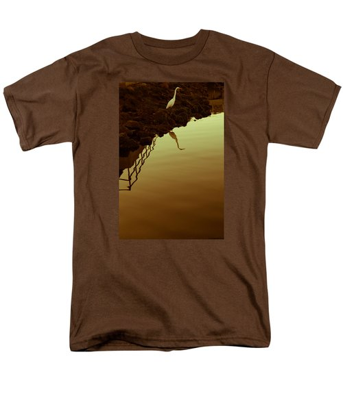 Elegant Bird Men's T-Shirt  (Regular Fit) by Lora Lee Chapman