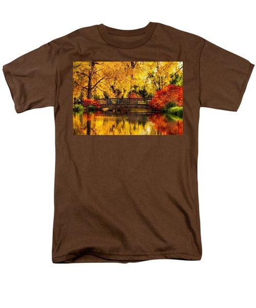 Reflections Of Fall Men's T-Shirt  (Regular Fit) by Kristal Kraft