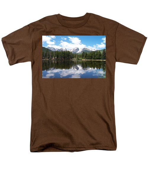 Reflections Of Sprague Lake Men's T-Shirt  (Regular Fit) by Dorrene BrownButterfield