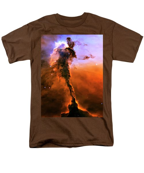 Release - Eagle Nebula 2 Men's T-Shirt  (Regular Fit) by Jennifer Rondinelli Reilly - Fine Art Photography