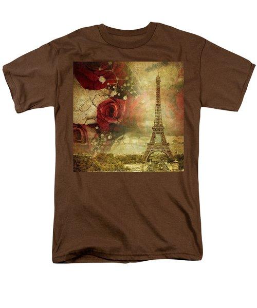 Remembering Paris Men's T-Shirt  (Regular Fit)