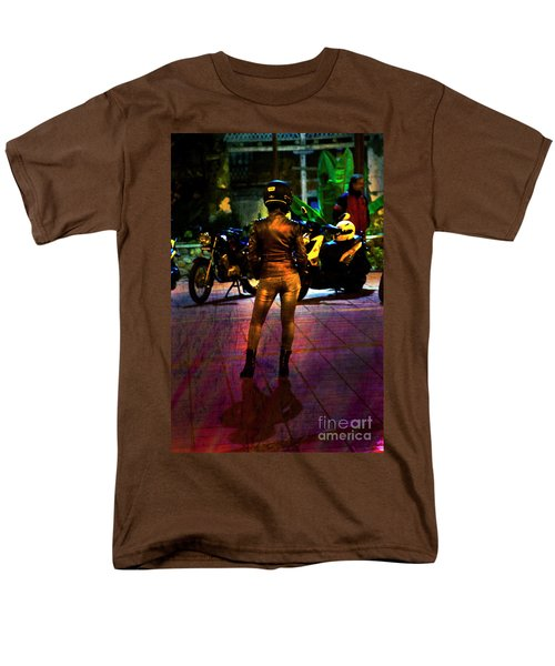 Men's T-Shirt  (Regular Fit) featuring the photograph Riding Companion II by Al Bourassa