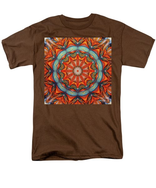 Ring Of Fire Men's T-Shirt  (Regular Fit) by Mo T