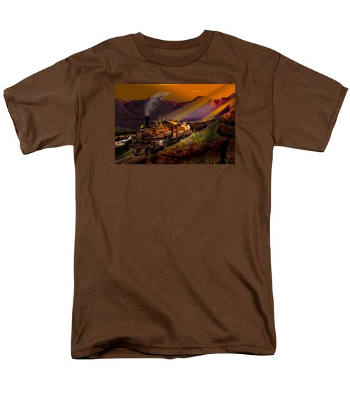 Rio Grande Early Morning Gold Men's T-Shirt  (Regular Fit) by J Griff Griffin