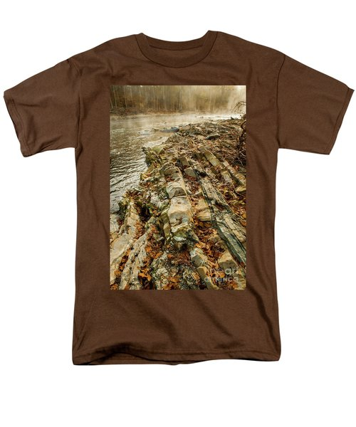 Men's T-Shirt  (Regular Fit) featuring the photograph River Bank by Iris Greenwell