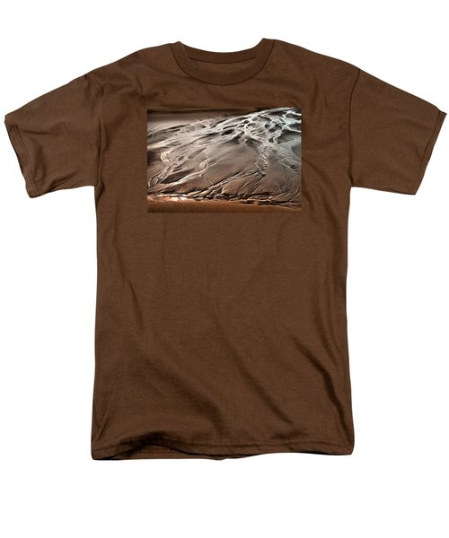 Men's T-Shirt  (Regular Fit) featuring the photograph Rivers Of Time by Laura Ragland