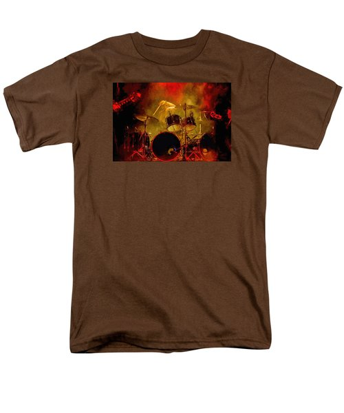 Rock And Roll Drum Solo Men's T-Shirt  (Regular Fit) by Louis Ferreira