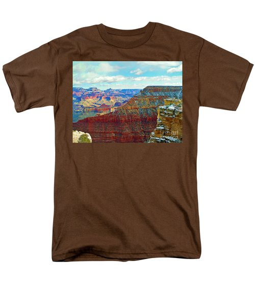 Men's T-Shirt  (Regular Fit) featuring the photograph Rock Solid by Roberta Byram