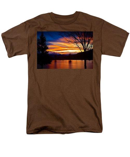 Rose Canyon Dawning Men's T-Shirt  (Regular Fit) by Paul Marto