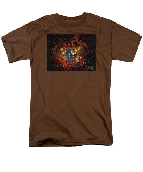 Rosette Nebula  ... Men's T-Shirt  (Regular Fit) by Chuck Caramella