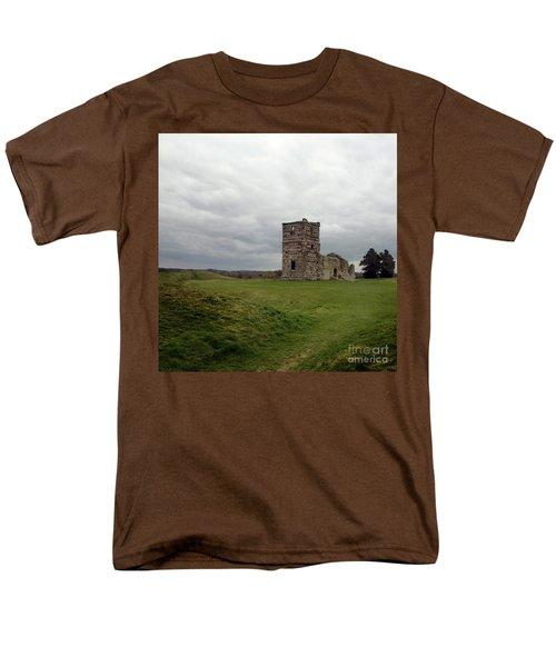 Men's T-Shirt  (Regular Fit) featuring the photograph Ruin by Sebastian Mathews Szewczyk