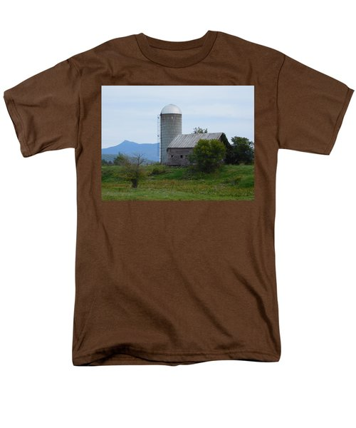 Rural Vermont Men's T-Shirt  (Regular Fit) by Catherine Gagne