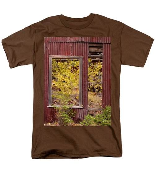 Men's T-Shirt  (Regular Fit) featuring the photograph Rustic Autumn by Leland D Howard