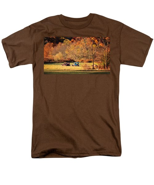 Men's T-Shirt  (Regular Fit) featuring the photograph Rusty And Oldie by Eduard Moldoveanu