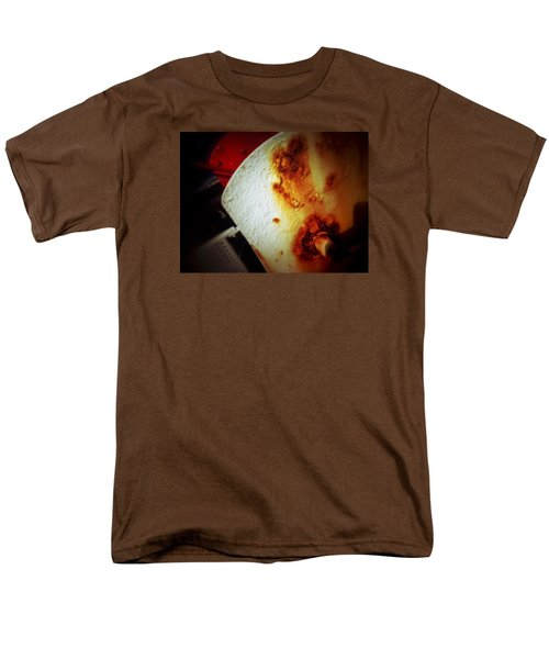 Men's T-Shirt  (Regular Fit) featuring the photograph Rusty Winch by Olivier Calas