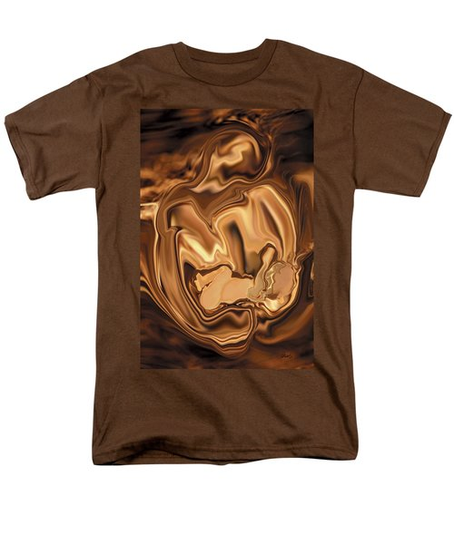Safe-in-her-arms Men's T-Shirt  (Regular Fit) by Rabi Khan