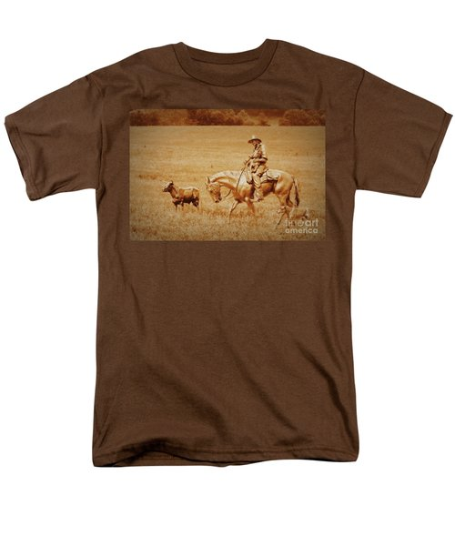 Men's T-Shirt  (Regular Fit) featuring the photograph Safely Home by Myrna Bradshaw