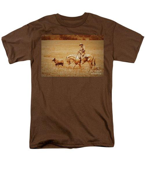 Safely Home Men's T-Shirt  (Regular Fit) by Myrna Bradshaw