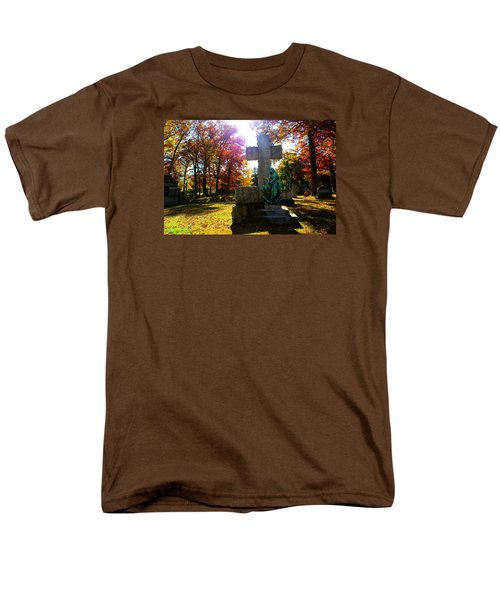 Men's T-Shirt  (Regular Fit) featuring the photograph Saint Mary by Michael Rucker