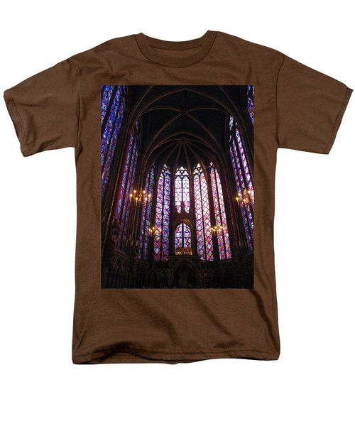 Men's T-Shirt  (Regular Fit) featuring the photograph Sainte-chapelle by Christopher Kirby