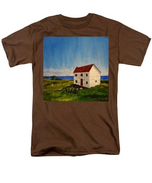 Saltbox House Men's T-Shirt  (Regular Fit) by Diane Arlitt