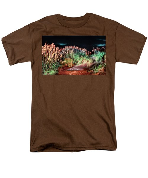 Sand Dunes At Night On The Outer Banks Ap Men's T-Shirt  (Regular Fit)