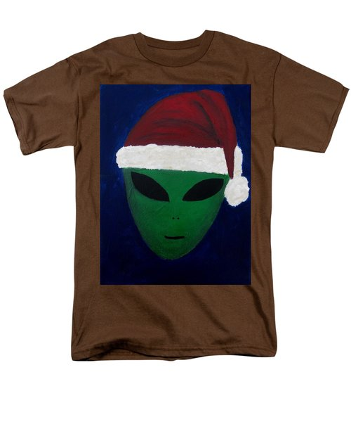 Men's T-Shirt  (Regular Fit) featuring the painting Santa Hat by Lola Connelly