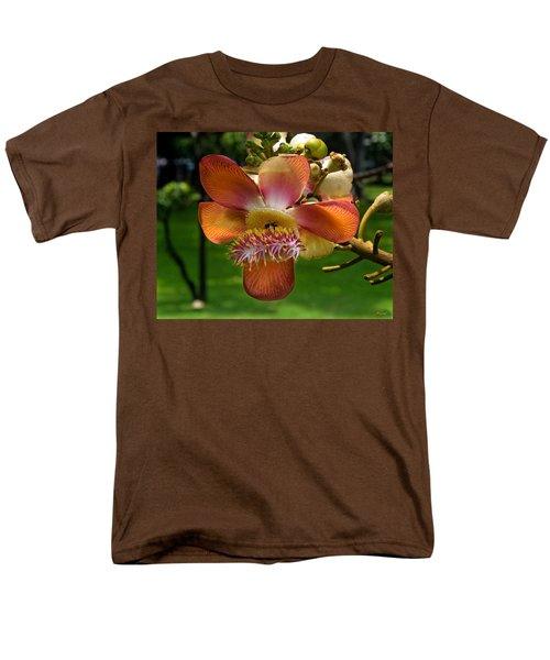 Sara Tree Flower Dthb104 Men's T-Shirt  (Regular Fit) by Gerry Gantt