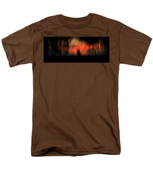 Men's T-Shirt  (Regular Fit) featuring the photograph Scary Nights by Marilyn Hunt
