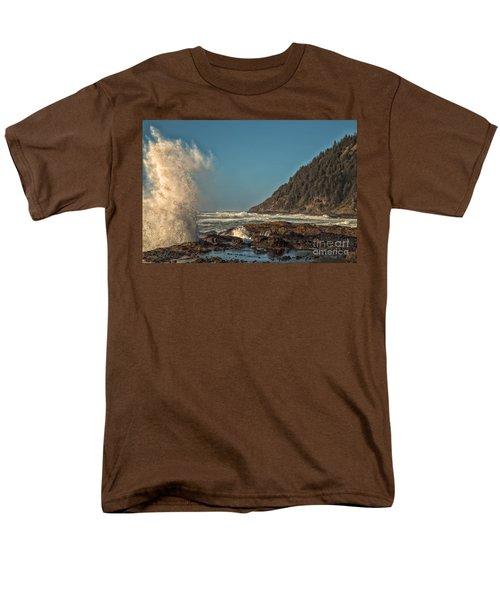 Sea Monster Men's T-Shirt  (Regular Fit) by Billie-Jo Miller