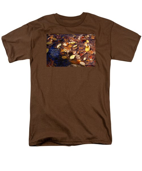 Men's T-Shirt  (Regular Fit) featuring the photograph Seasons by Diane E Berry