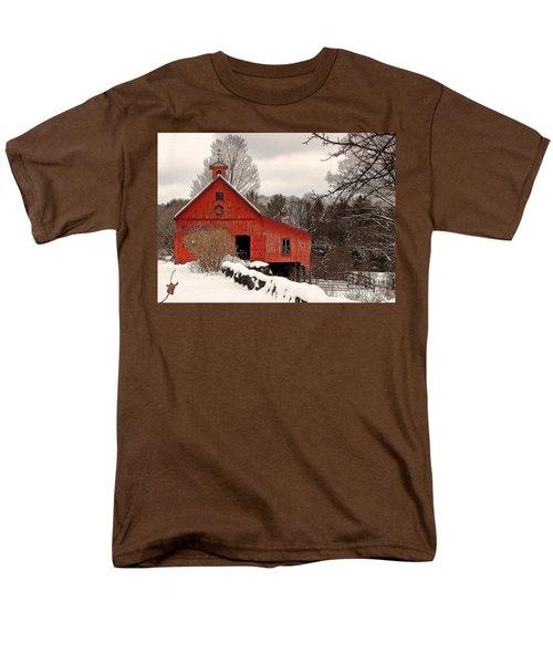 Season's Greetings Men's T-Shirt  (Regular Fit) by Betsy Zimmerli